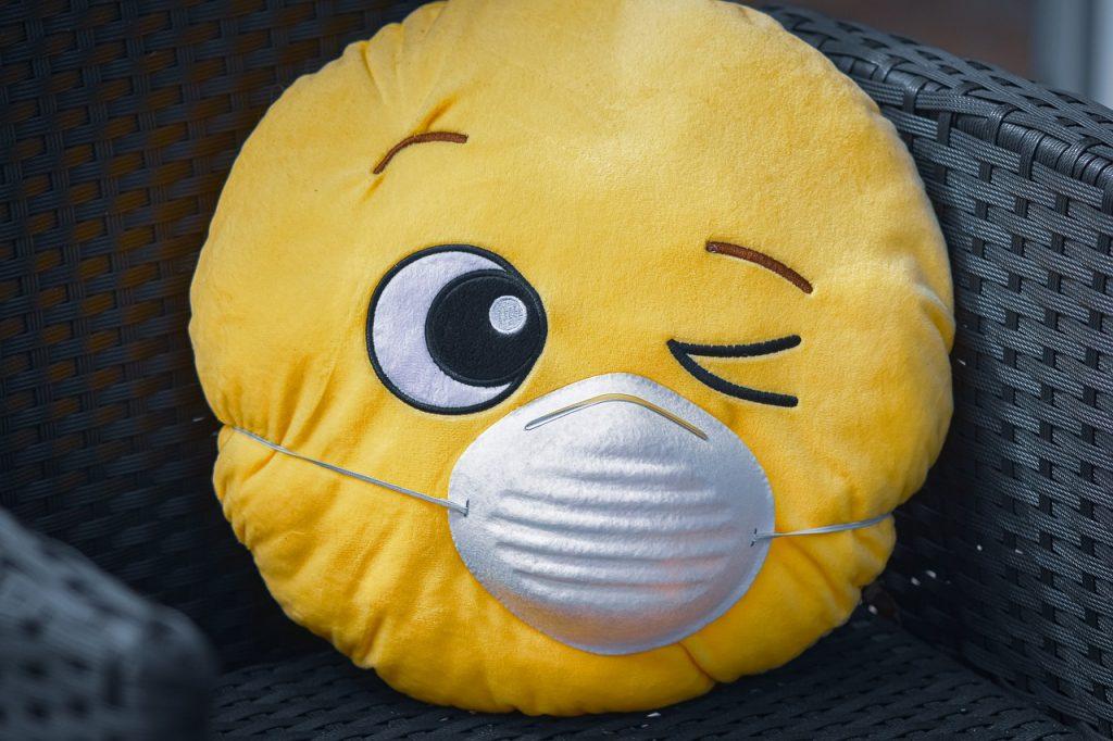 Pillow Face Facemask Emoji Wink  - Alexas_Fotos / Pixabay